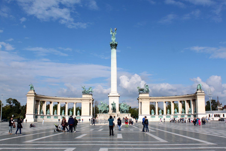 Plac Bohaterow Budapeszt