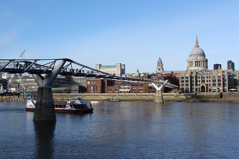 Millenium Bridge Londyn