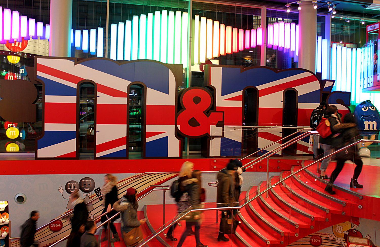 M&M's sklep Londyn