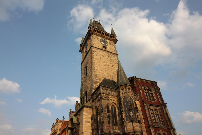 Praga Rynek Staromiejski Ratusz
