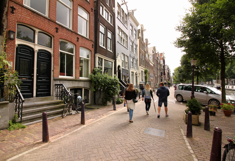 Amsterdam uliczki