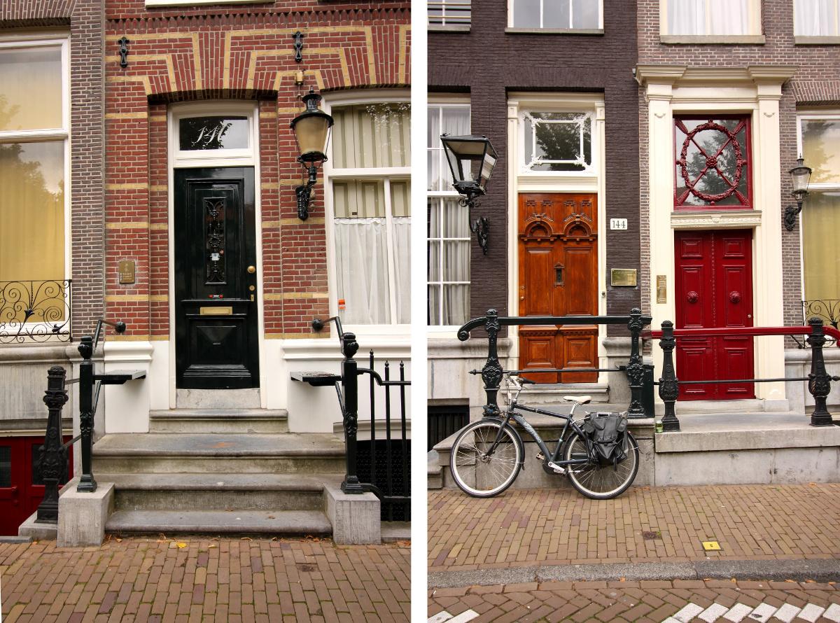 Amsterdam drzwi