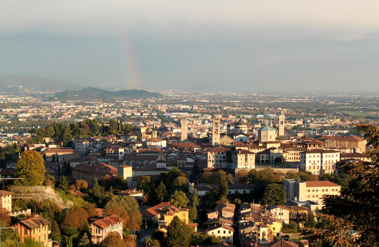 Bergamo widok