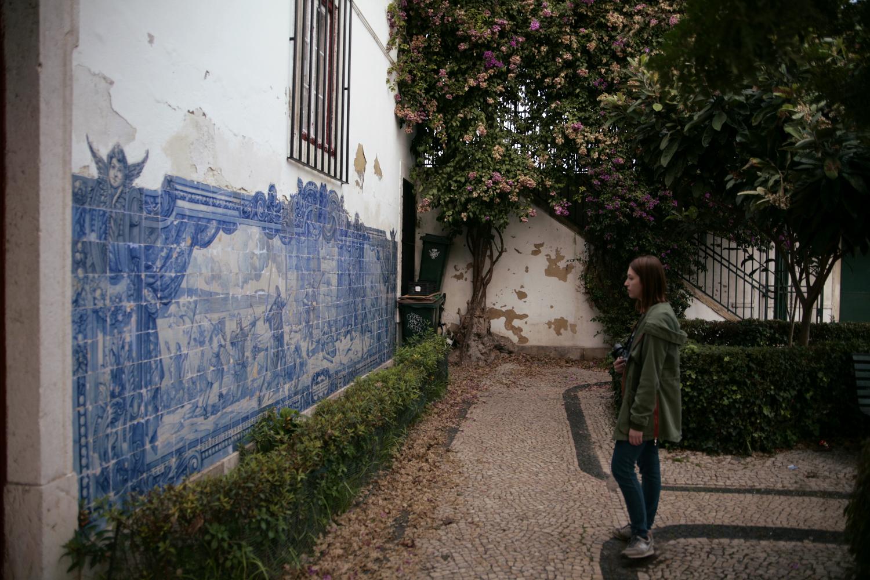 Lizbona mozaika