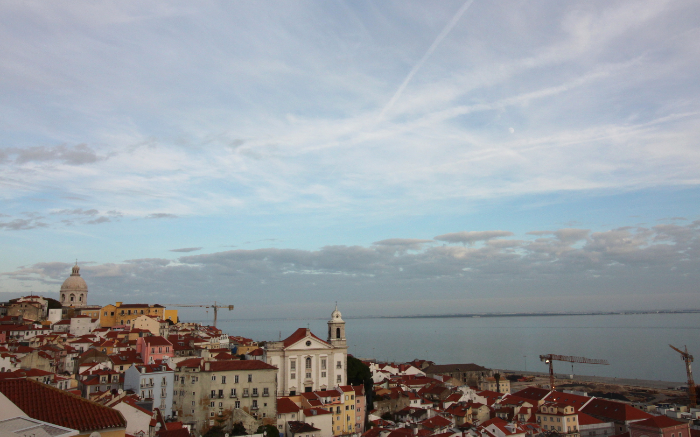 Lizbona widok Alfama