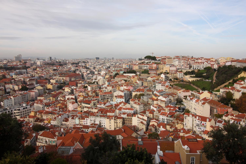 Lizbona widok z zamku