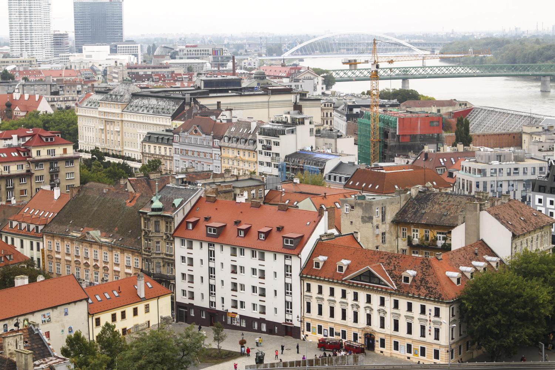 Bratysława widok z zamku