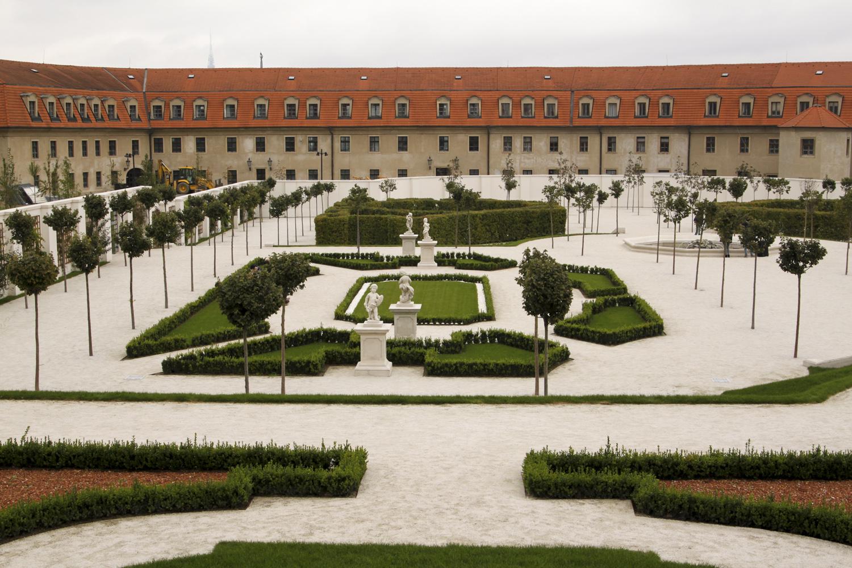 Bratysława zamek ogrody