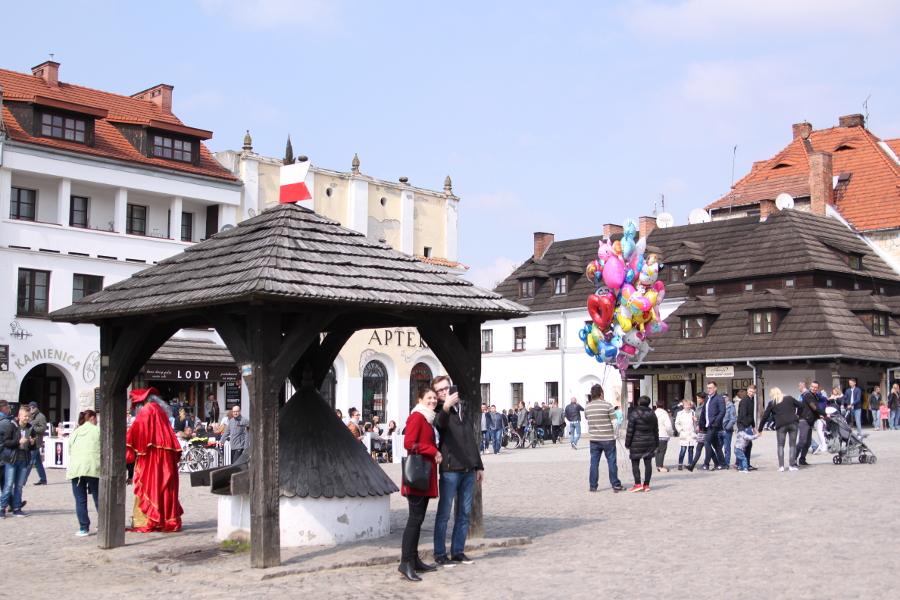 Kazimierz Dolny rynek