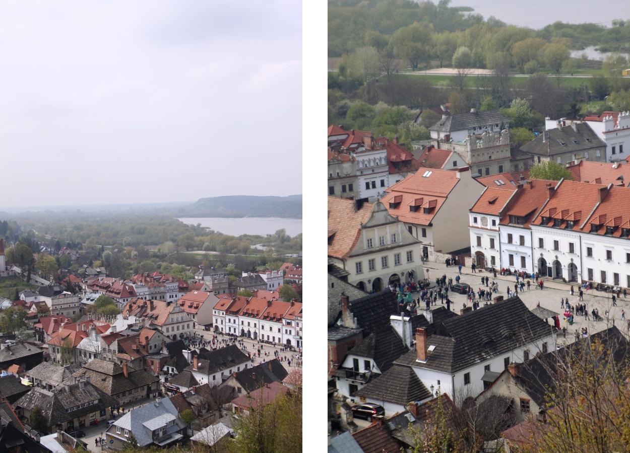 Kazimierz Dolny widok