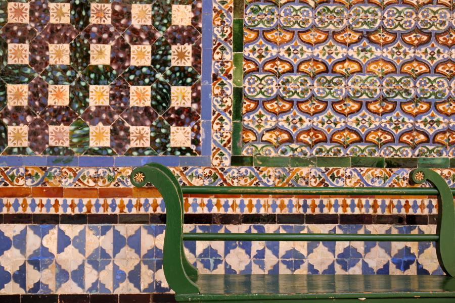 Casa Pilatos Dom Piłata Sewilla azulejos