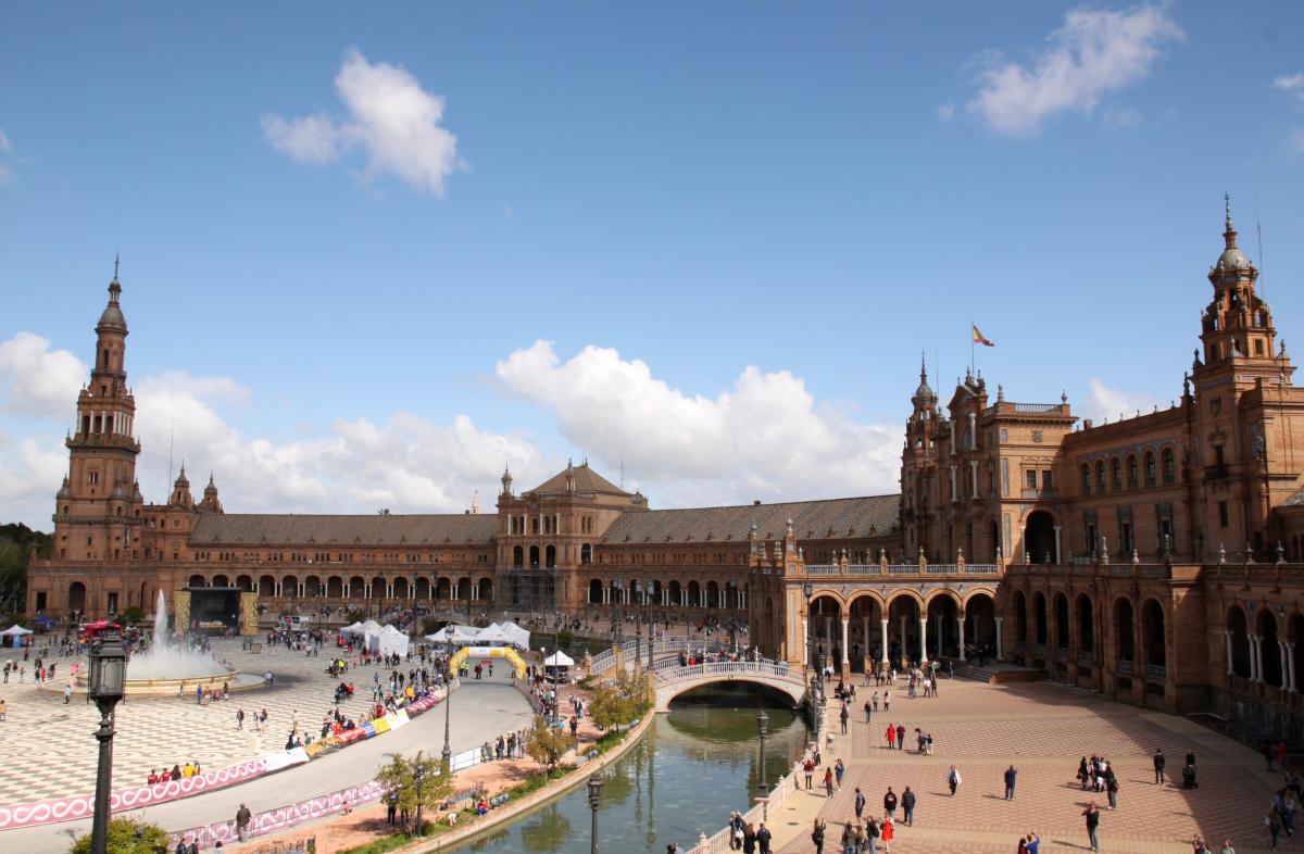 Plaza Espana Sewilla