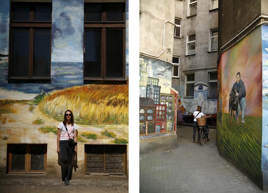 Wrocław murale nadodrze