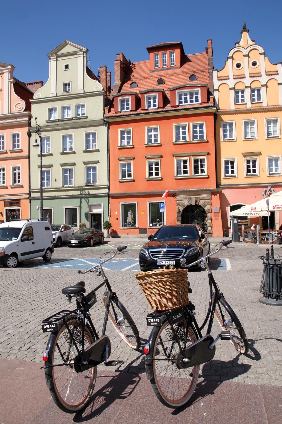 Wrocław rowerem