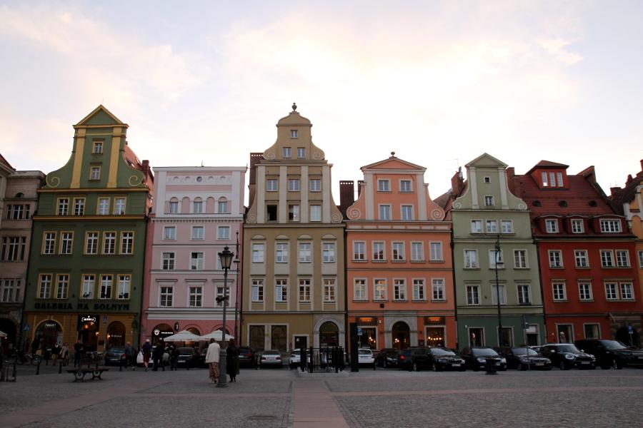 Wrocław rynek Plac Solny