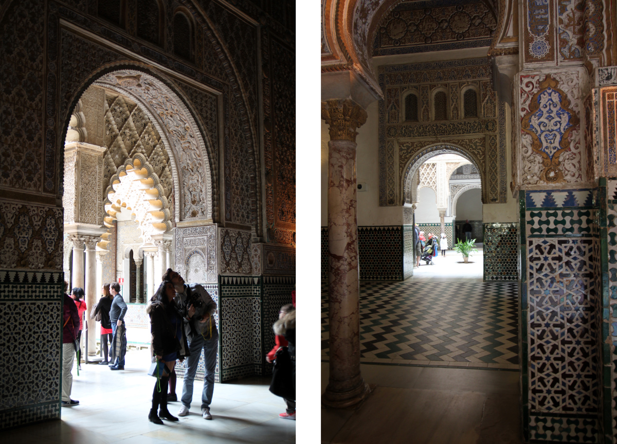 Pałac Alkazar Sewilla
