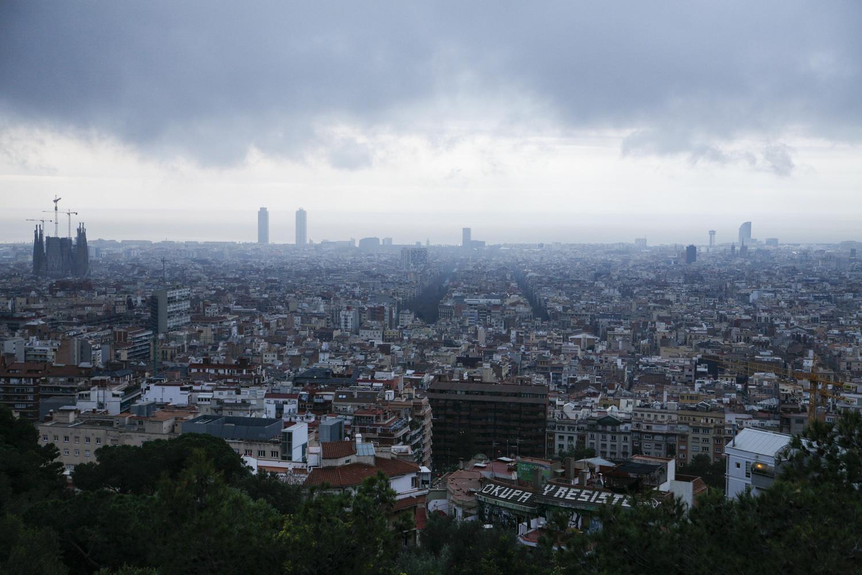 Barcelona Góra trzech krzyży widok