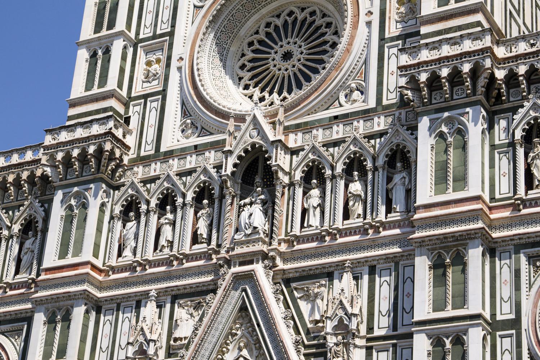 Florencja katedra fasada