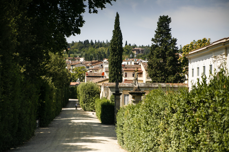 Florencja-ogrod boboli
