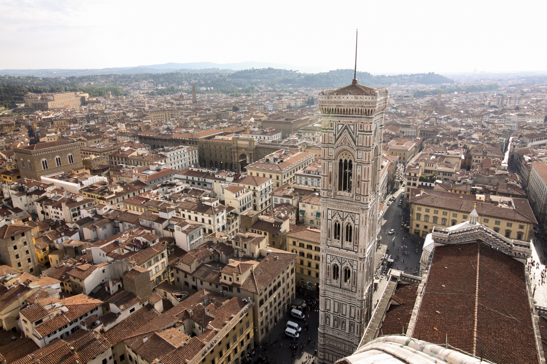 Florencja-widok z katedry kopuły (2)