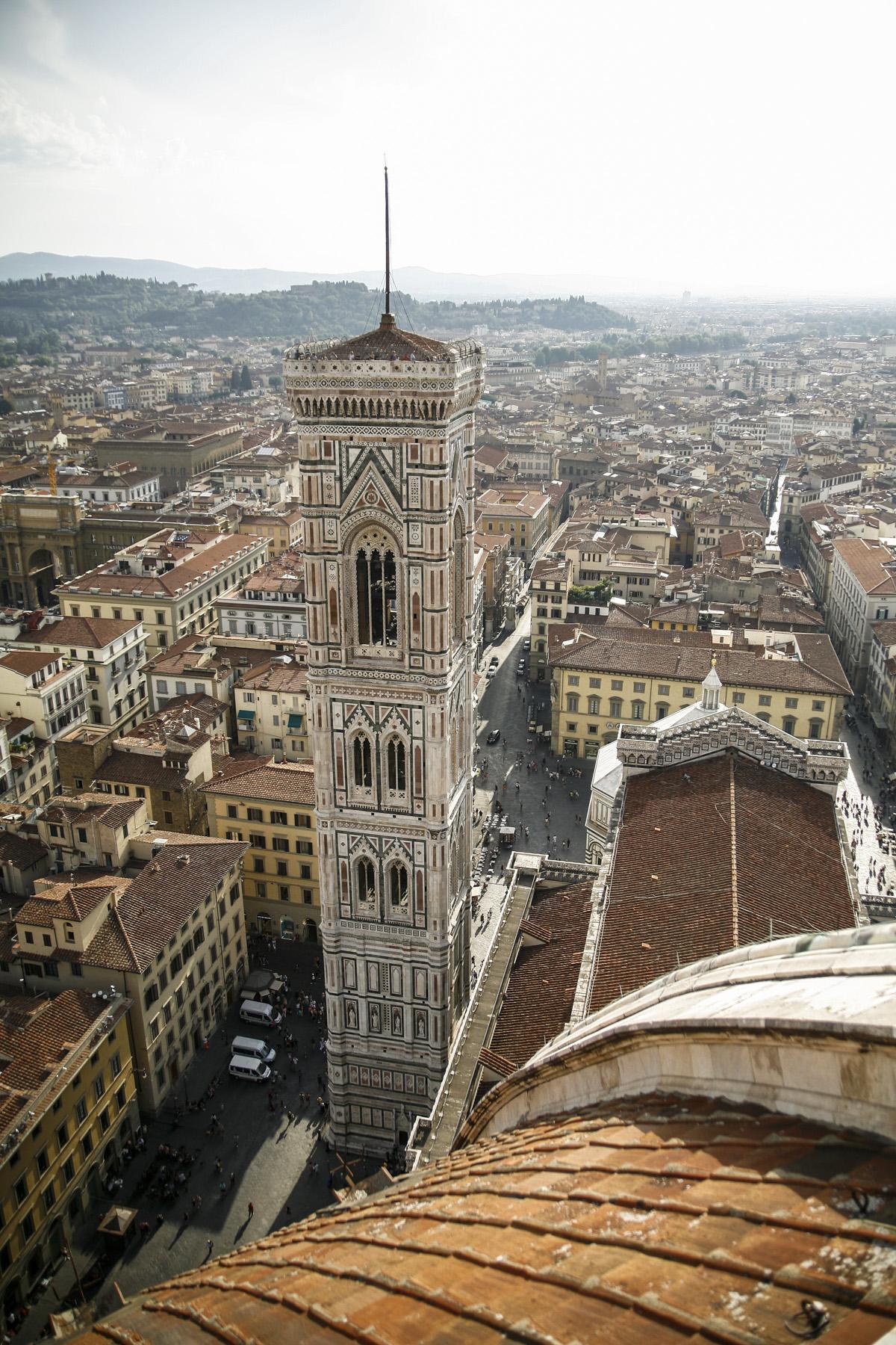 Florencja wieża Katerda
