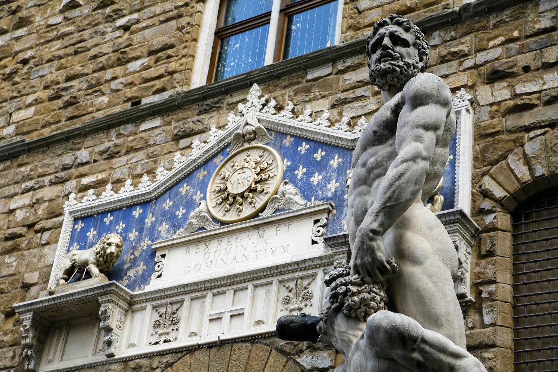 Florencja Pałac Vecchio