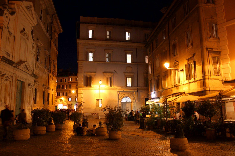 Trastevere Rzym Zatybrze