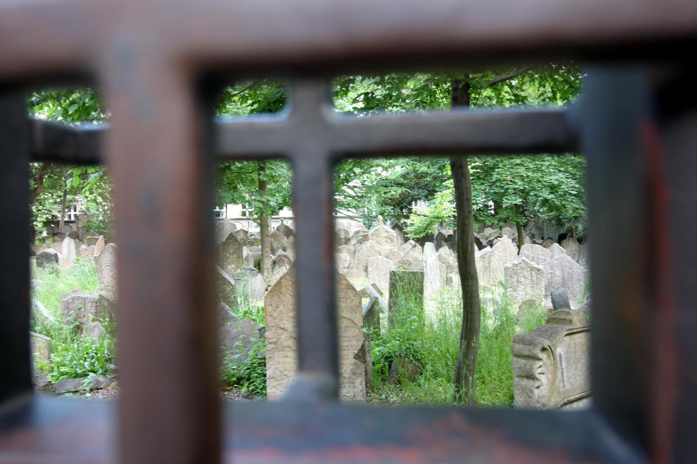 cmentarz zydowski praga jozefov
