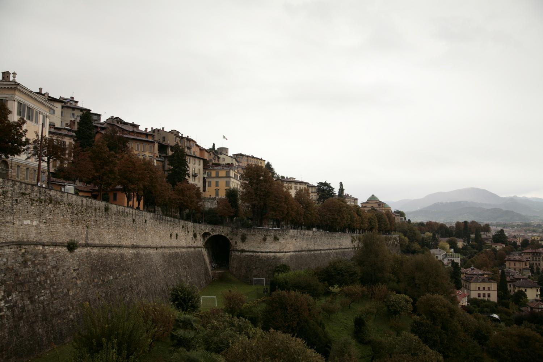 Bergamo mury