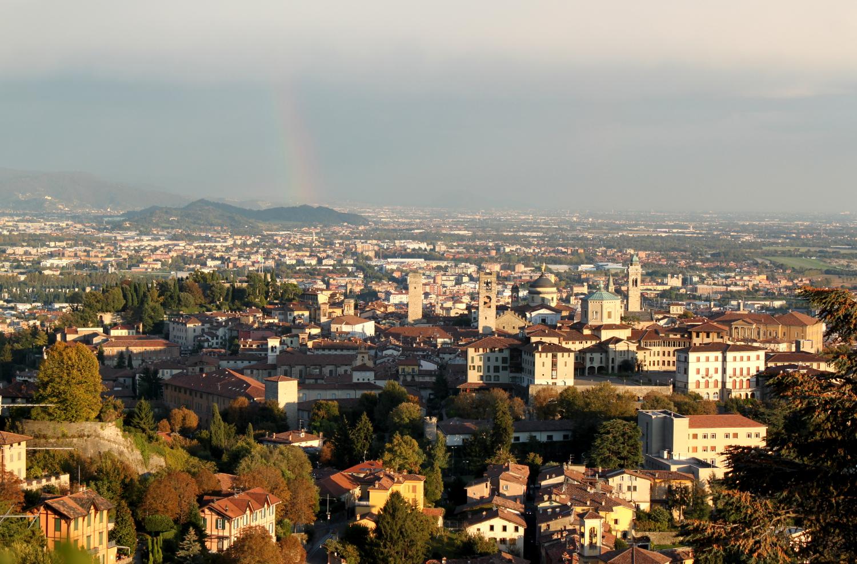 Bergamo widok sant vigillio