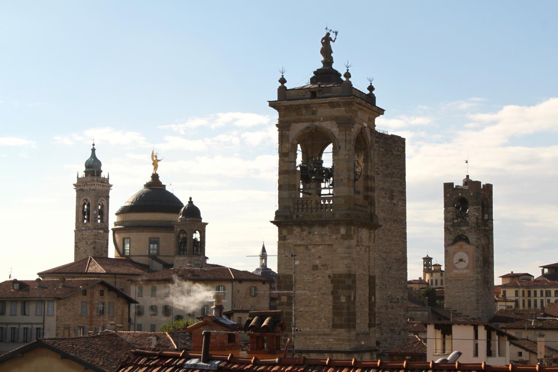 Bergamo widok z rocca