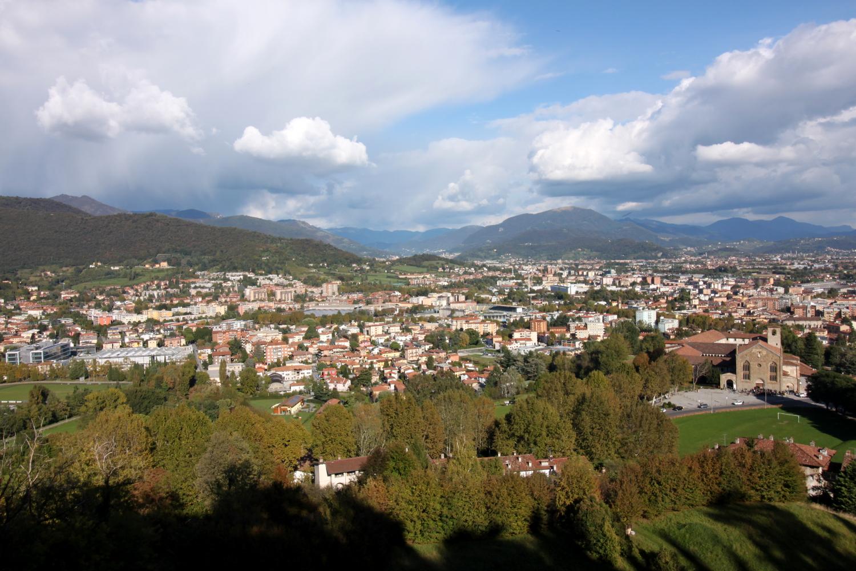 Widok Rocca Bergamo