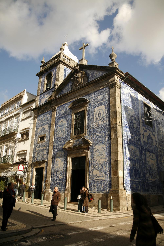kościół azulejo Porto