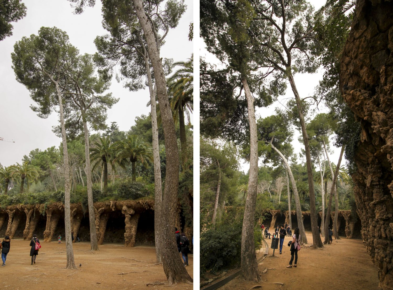 Barcelona Park guell arkady