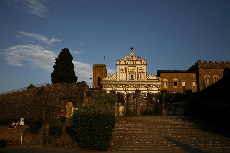 Florencj bazylika san minato al monte