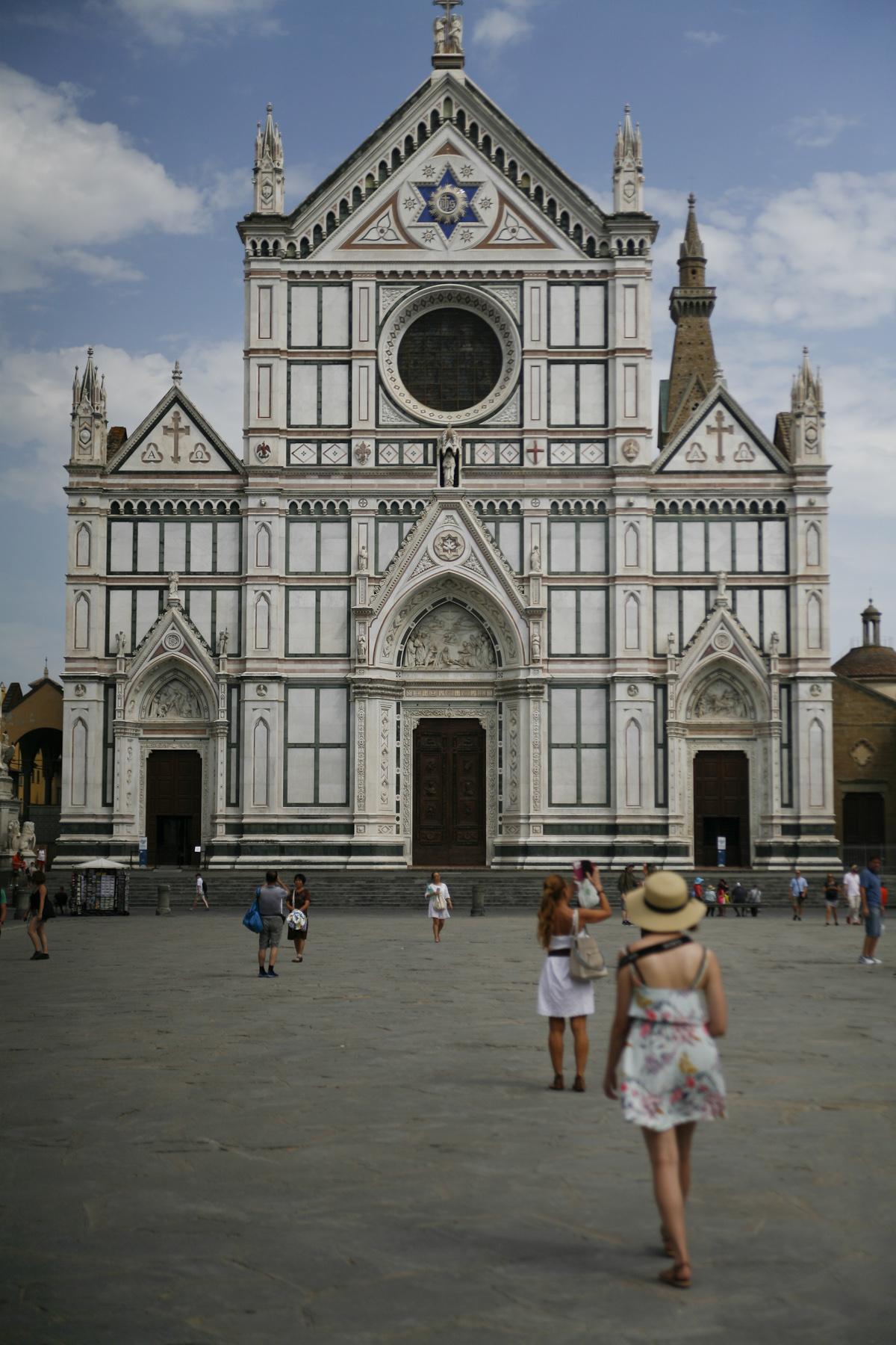 Florencja kościół Santa Croce