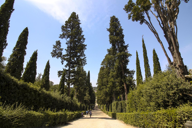 Florencja ogród boboli