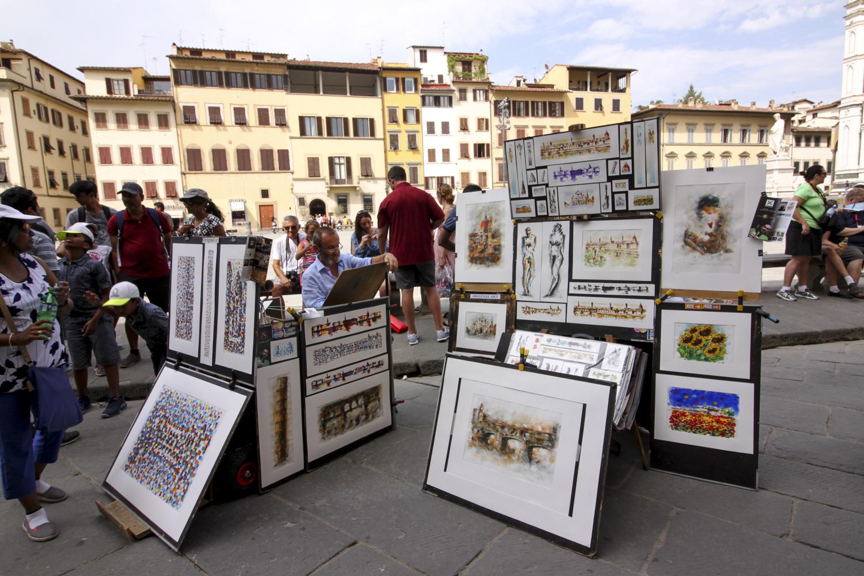 Florencja-plac-santa-croce