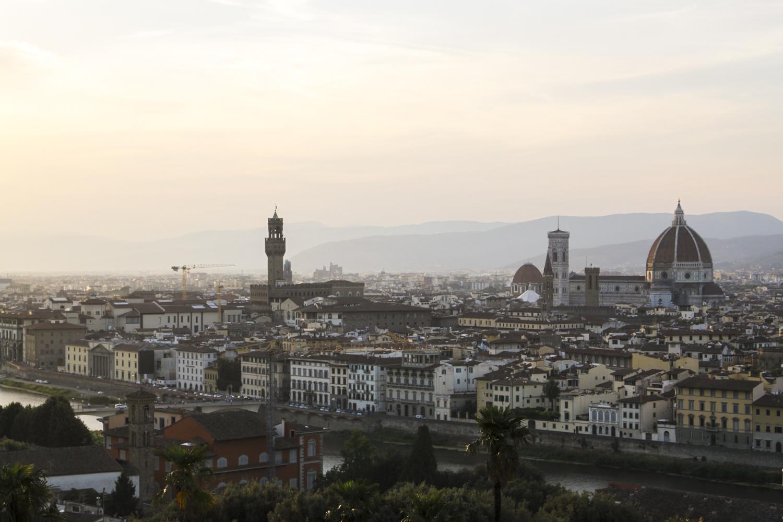 Florencja widok wzgorze Michelangelo (1)
