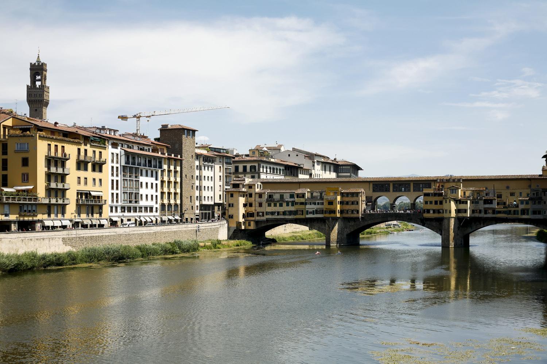 Florencja Ponte Vecchio Most Złotników