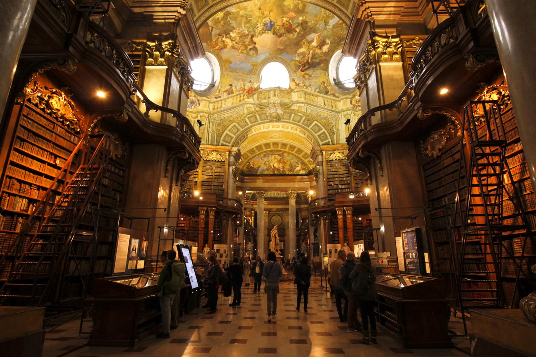 Wiedeń biblioteka narodowa