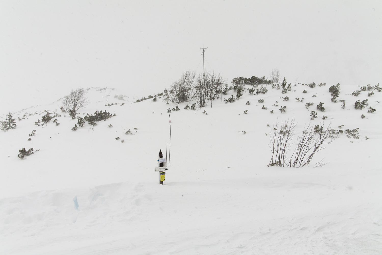 Dolina Pięciu Stawów zima
