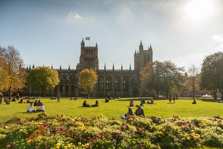 Bristol katedra