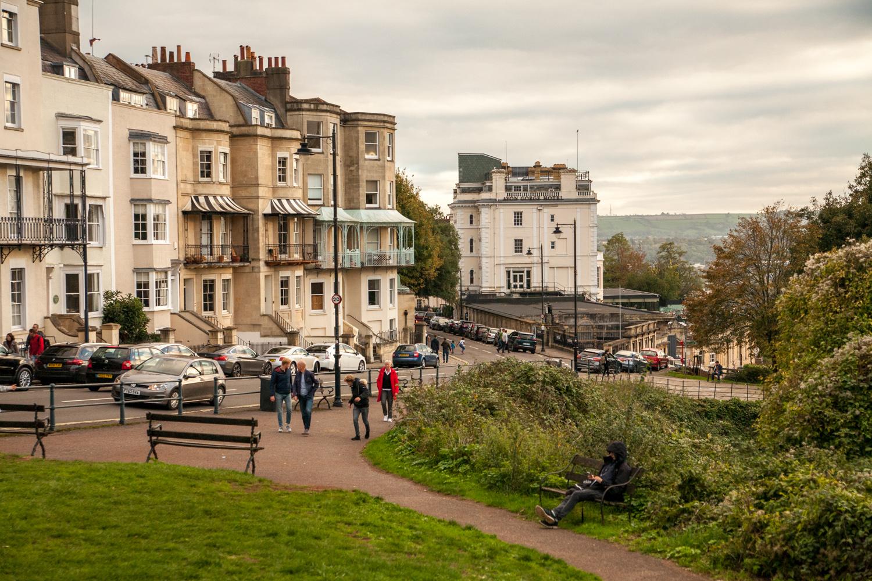 Bristol balkony wiktoriańskie