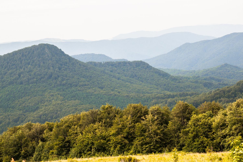 Przełęcz Bukowska widok