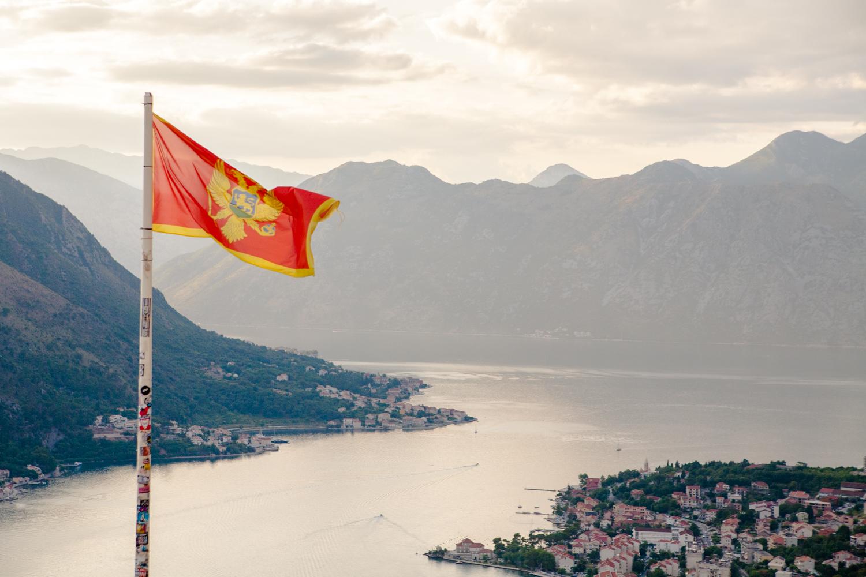 Czarnogóra flaga Kotor